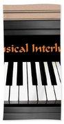 Musical Interlude Beach Sheet