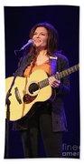 Musician Rosanne Cash Beach Towel