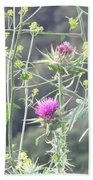 Mustard And Thistle Beach Towel