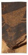 Mv Petroglyph 7364 Beach Towel