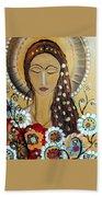 My Angel Modern Icon Beach Towel