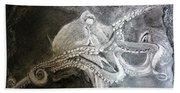My Friend The Octopus Beach Towel