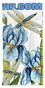 My Garden-jp2829 Beach Towel