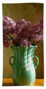 My Mother's Lilacs Beach Sheet
