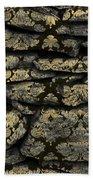 My Pretty Rock Wall Beach Towel