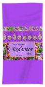My Redeemer Lives Spanish Beach Sheet