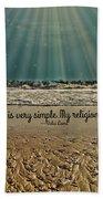My Religion Beach Towel