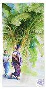 Myanmar Custom_08 Beach Towel