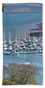 Mylor Marina Beach Towel