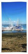 Mylor Yacht Pontoon Beach Towel