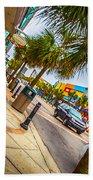 Myrtle Beach Shopping Beach Towel