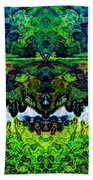 Mysterious Woods Beach Towel