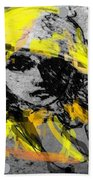 Mystery Lady  Beach Towel