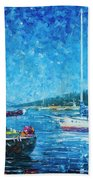 Mystery Of The Night 3  Beach Towel