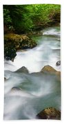 Mystic Creek Beach Towel