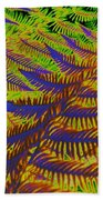 Mystic Fern Beach Towel