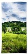 Mystic Hillside Beach Towel