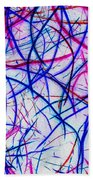 Mystic Lights 3 Beach Towel