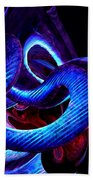 Mystic Love Abstract Beach Towel