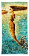 Mystic Mermaid Iv Beach Towel