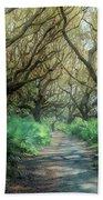 Mystical Angel Oaks  Beach Towel