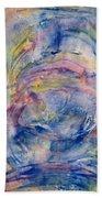 Mystical Unicorn Ride Beach Towel