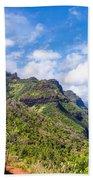 Na Pali Coast Kauai Beach Towel