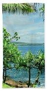 Nahiku Kaelua Hanawi Honolulunui Maui Hawaii Beach Towel