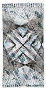 Nailed It Series No 23 Beach Towel