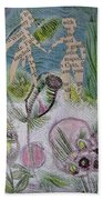 Naked Garden I Beach Towel