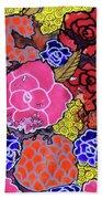 Nala's Flowers Beach Towel
