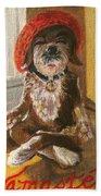 Namaste Dog Beach Towel