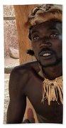 Namibia Tribe 2 - Chief Beach Towel