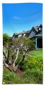 Nantucket Architecture Series 08 Y1 Beach Towel