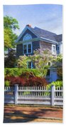 Nantucket Architecture Series 7 - Y1 Beach Towel