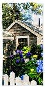 Nantucket Cottage No.1 Beach Towel