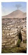 Naples: Mt. Vesuvius Beach Towel