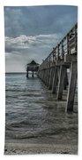 Naples Pier And Beach Fun Beach Towel