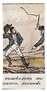 Napoleon: Russian Campaign Beach Towel