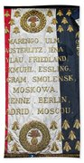Napoleonic Flag Beach Towel