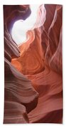 Narrow Canyon Xvii Beach Towel