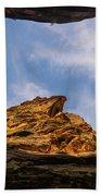 Narrows Sky Zion National Park Utah Beach Towel