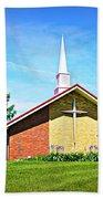 Nashville Baptist Church Beach Towel