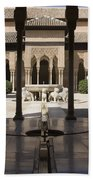 Nasrid Palaces Alhambra Granada Spain Europe Beach Towel
