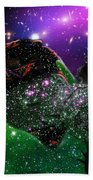 Natassja In Nebular Sleep Beach Towel