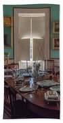 Nathaniel Russell Dining Room Beach Towel