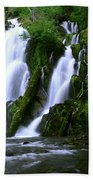 National Creek Falls 02 Beach Towel
