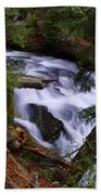 National Creek Falls 03 Beach Towel