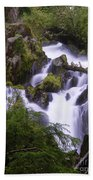 National Creek Falls 05 Beach Towel