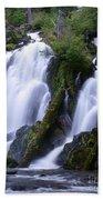 National Creek Falls 09 Beach Towel